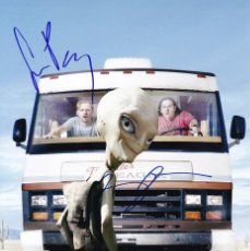 Cine: SIMON PEGG, NICK FROST, AND SETH ROGEN SIGNED AUTOGRAPH PAUL 8X12 PHOTO. Lote 288635443