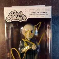 """Cine: RALPH FIENNES SIGNED HARRY POTTER LORD VOLDEMORT ROCK CANDY 5"""" VINYL FIGURE. Lote 289719463"""