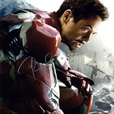 Cine: ROBERT DOWNEY JR SIGNED AUTOGRAPH AVENGERS AGE OF ULTRON IRON MAN 5X7 CARD. Lote 297050603