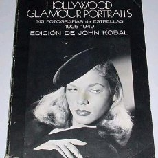 Cine: HOLLYWOOD GLAMOUR PORTRAITS . JOHN KOBAL. Lote 26909384
