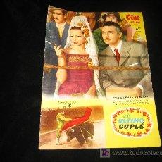 Cine: EL ULTIMO CUPLE PELICULA FASCICULO Nº 5. Lote 4835391