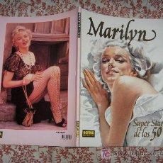 Cinema: MARILYN MONROE SUPER STAR DE LOS 50 NORMA EDITORIAL 1992. Lote 19531593