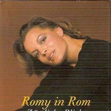 Cine: ROMY SCHNEIDER EN ALEMAN CON FOTOGRAFIAS EN BLANCO Y NEGRO Y COLOR. Lote 5205070