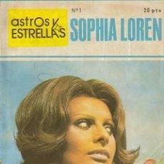 Cine: ASTROS Y ESTRELLAS (MAISAL ) ORIGINAL 1973 Nº. 1. Lote 27330493