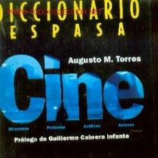 Cine: DICCIONARIO DE CINE ESPASA (MADRID, 1997). Lote 21465361