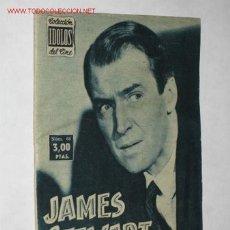 Cine: BIOGRAFÍA DE JAMES STEWART. COLECCIÓN IDOLOS DEL CINE. Lote 23193013