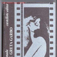 Cine: VIDA DE GRETA GARBO -CÉSAR ARCONADA (GENERACIÓN 27)- 1974 (CINE, REPÚBLICA).. Lote 26451057