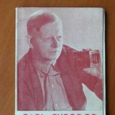 Cine: CARL THEODOR DREYER, DE CARLOS FERNÁNDEZ CUENCA. FILMOTECA NACIONAL DE ESPAÑA 1964. Lote 26451680