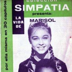 Cine: COLECCIÓN SIMPATÍA. LA VIDA DE MARISOL 27. Lote 17216369