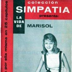 Cine: COLECCIÓN SIMPATÍA. LA VIDA DE MARISOL 13. Lote 17216370