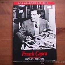 Cine: FRANK CAPRA, MICHEL CIEUTAT, CINEMA CLUB COLECCION, 1990. Lote 14255180