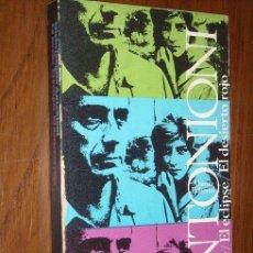 Cine: LA NOCHE-EL ECLIPSE-EL DESIERTO ROJO POR MICHELANGELO ANTONIONI DE ALIANZA ED. EN MADRID 1967. Lote 21734526