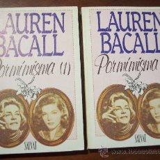 Cine: POR MÍ MISMA (LAUREN BACALL) PARTE 1 Y 2 - SALVAT EDITORES 1985. Lote 15073354