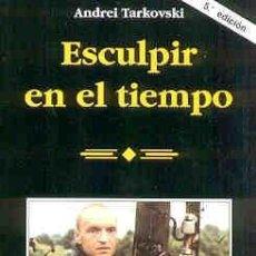 Cine: ESCULPIR EN EL TIEMPO, DEL DIRECTOR DE CINE ANDREI TARKOVSKI.. Lote 15189464
