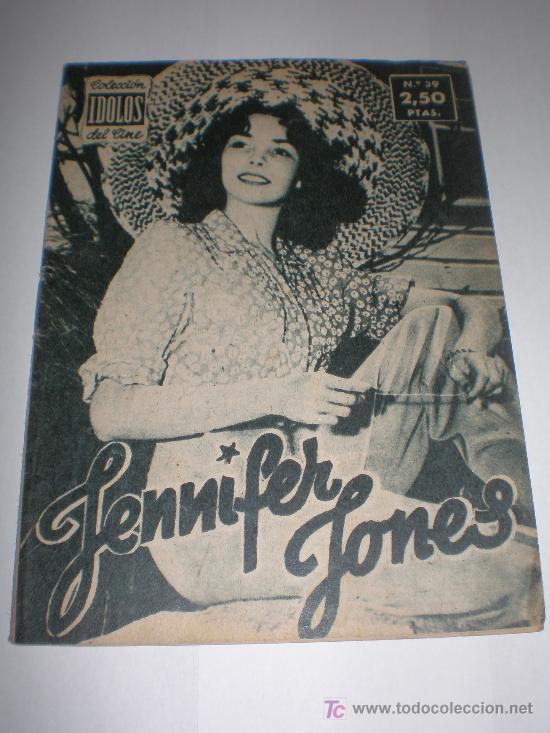 IDOLOS DEL CINE Nº 39 JENNIFER JONES 1958 (Cine - Biografías)