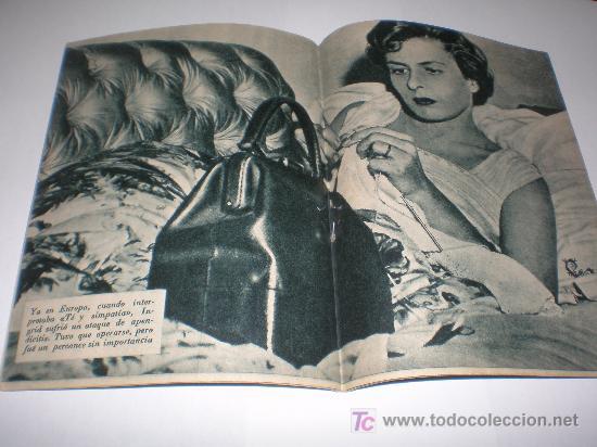 Cine: IDOLOS DEL CINE Nº 16 INGRID BERGMAN (1958),medidas 16x12 ctmos - Foto 2 - 25752774