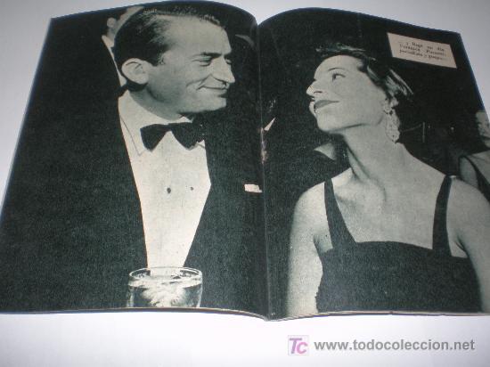 Cine: colección IDOLOS DEL CINE Nº 3 GREGORY PECK, medidas 16x12 ctmos - Foto 2 - 24386832
