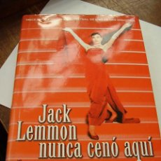 Cine: JACK LEMMON NUNCA CENÓ AQUÍ DIEGO GALÁN. Lote 21812756
