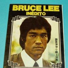 Cine: BRUCE LEE INEDITO. RICHARD S. MOORE. PRODUCCIONES EDITORIALES. 1975. Lote 29528637