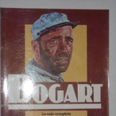 Cine: BOGART POR TERENCE PETTIGREW DE EDITORIAL SALVAT EN NAVARRA 1986. Lote 25085058