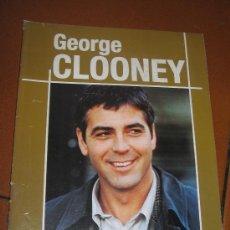 Cine: LIBRO DE CINE. GEORGE CLOONEY (OCTUBRE 2000) (VER MAS FOTOS). Lote 22710214