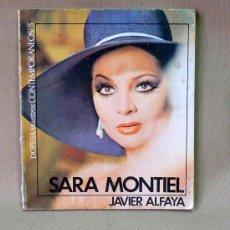Cine: LIBRO, SARA MONTIEL, DOPESA, NUESTROS CONTEMPORANEOS, Nº 5, JAVIER ALFAYA, 1971. Lote 198017057