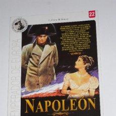 Cine: DVD NAPOLEÓN. Lote 25441929