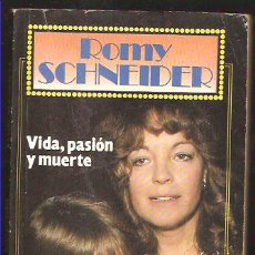 Cine: ROMY SCHNEIDER ,VIDA , PASIÓN Y MUERTE. Lote 25661240