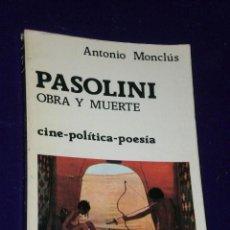 Cine: PASOLINI: OBRA Y MUERTE.. Lote 25996083