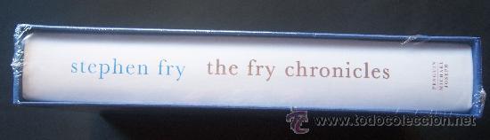 Cine: Stephen Fry. Firmado a mano por el actor y director. Autobiografía. Sellada. Numerada 391 de 750 ej. - Foto 2 - 26693856
