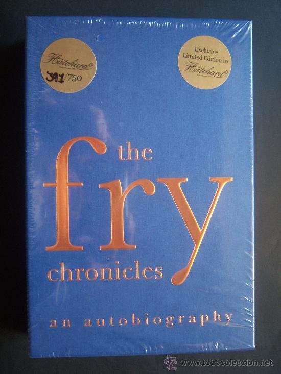 Cine: Stephen Fry. Firmado a mano por el actor y director. Autobiografía. Sellada. Numerada 391 de 750 ej. - Foto 5 - 26693856