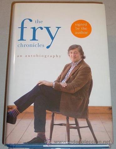Cine: Stephen Fry. Firmado a mano por el actor y director. Autobiografía. Sellada. Numerada 391 de 750 ej. - Foto 8 - 26693856