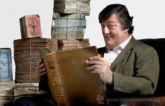 Cine: Stephen Fry. Firmado a mano por el actor y director. Autobiografía. Sellada. Numerada 391 de 750 ej. - Foto 9 - 26693856