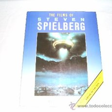 Cine: THE FILMS OF STEVEN SPIELBERG. NEIL SINYARD. FEATURING THE LATEST BLOCKBUSTER EMPIRE OF THE SUN. Lote 27154629