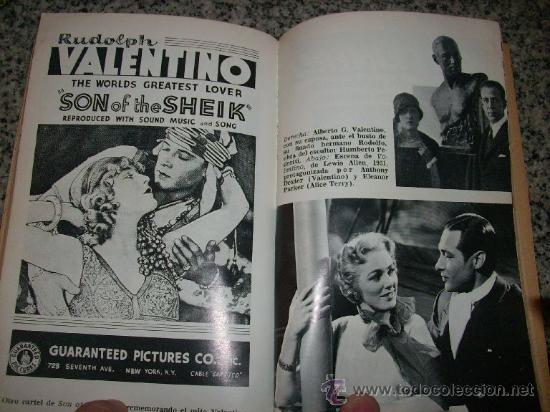 Cine: VALENTINO, LA SEDUCCION MANIPULADA, por Antonio Tello Y Gonzalo Otero Pizarro - Bruguera - 1978 - Foto 2 - 27459069