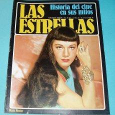Cine: LAS ESTRELLAS. FASCÍCULO Nº 36. PORTADA MARÍA MONTEZ. CONTRAPORTADA GLENN FORD. Lote 27588324