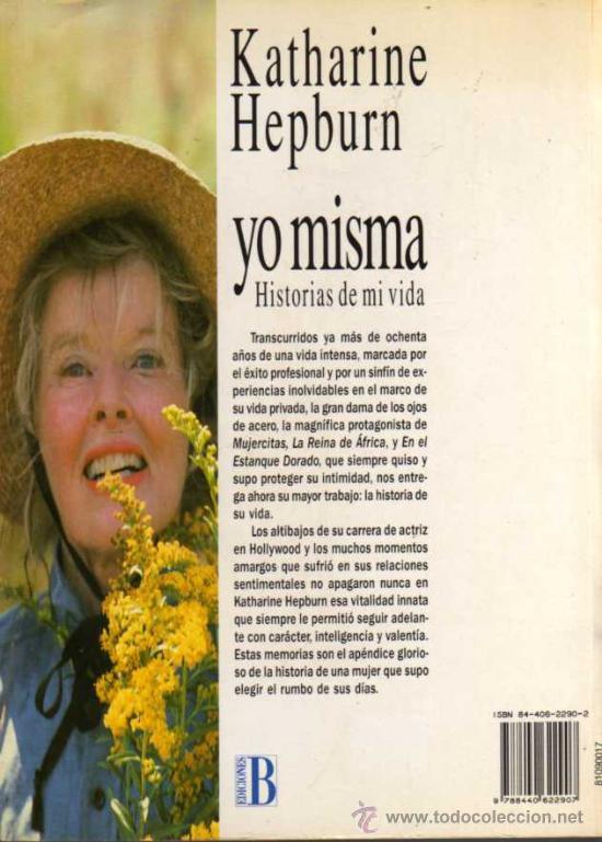 Cine: YO MISMA - AUTOBIOGRAFIA KATHERINE HEPBURN - PRIMER PLANO EDICIONES B - Foto 2 - 28157268
