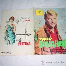 Cine: BIOGRAFIA ILUSTRADA Nº 3, AÑO 1965. ARTISTAS DE LA PEQUEÑA PANTALLA. TROY DONAHUE. Lote 28557413