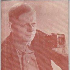 Cine: CARL THEODOR DREYER POR C.FERNÁNDEZ CUENCA. FILMOTECA NACIONAL 1964.. Lote 28757930
