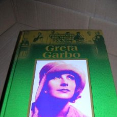 Cine: PERSONAJES DEL SIGLO XX: GRETA GARBO. EDICIONES RUEDA, AÑO 2002. COMO NUEVO.. Lote 28946164