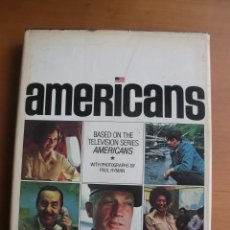 Cine: AMERICANS - DESMOND WILCOX - BASED ON THE TELEVISION SERIES AMERICANS - WITH PHOTOGRAHFS PAUL HYMAN. Lote 29706738