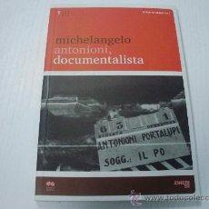 Cine: MICHELANGELO ANTONIONI, DOCUMENTALISTA - CINE - CARLO DI CARLO. Lote 31385138