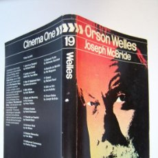 Cine: ORSON WELLES, UNA BIOGRAFÍA DE JOSEPH MCBRIDE. EN INGLÉS.. Lote 32294029