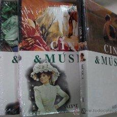 Cine: ENCICLOPEDEDIA CINE Y MUSICA DE SALVAT (3 VOLUMENES) NUEVOS PRECINTADOS (EM2). Lote 86063783