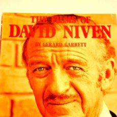Cine: THE FILMS OF DAVID NIVEN, POR GERARD GARRETT.. Lote 32361947