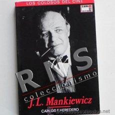Cine: JL MANKIEWICZ LOS COLOSOS DEL CINE - LIBRO BIOGRAFÍA DIRECTOR FOTOS - CARLOS F. HEREDERO CINEMA CLUB. Lote 33398844