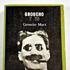 Cine: GROUCHO Y YO, POR GROUCHO MARX.. Lote 33674219