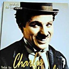 Cine: TODAS LAS PELÍCULAS DE CHARLES CHAPLIN. GRAN TOMO TAPA DURA CON SOBRECUBIERTA. DEFINITIVO. CHARLOT. Lote 33769904