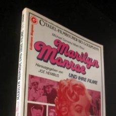Cine: MARILYN MONROE UND IHRE FILME * MICHAEL CONWAY MARK RICCI * CITADEL - FILMBUCH * TAPA BLANDA. Lote 34182966