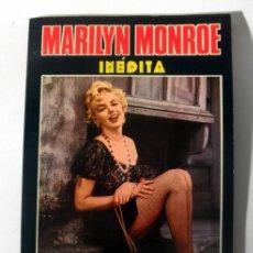 Cine: MARILYN MONROE INEDITA * PRODUCCIONES EDITORIALES 1976 BARCELONA * TAPA BLANDA. Lote 34183064